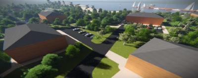 Концепция развития территории рядом с Усадьбой Гальских