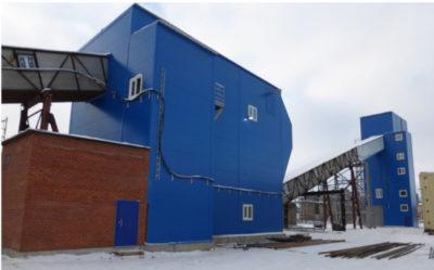 Бетоносмесительный узел на территории ОАО «Завод железобетонных изделий и конструкций»